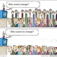 Wie wil veranderen?