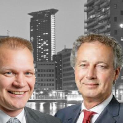 Gert-Jan Buitendijk (links) en Bert van Delden (rechts)