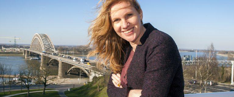 Wethouder Harriet Tiemens van Nijmegen. Foto: Niek Antonise