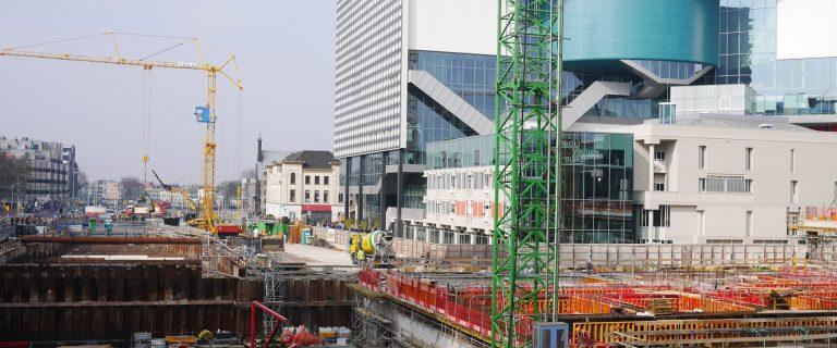 Verbouwing van het Stationsgebied Utrecht. Foto: Flickr Creative Commons/Franklin Heijnen.