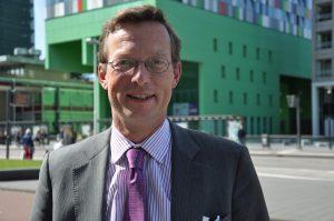Floris de Gelder, directeur van het Utrecht Science Park. Foto: Pieter Verbeek.