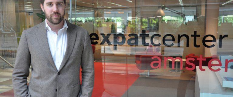 David van Traa. directeur Amsterdam Expatcenter. foto: Pieter Verbeek