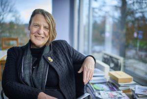 Wethouder Mary-Ann Schreurs van Eindhoven.