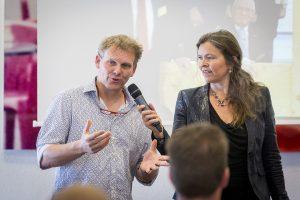 Wethouder Joris Wijsmuller aan het woord. Foto: Valerie Kuypers.