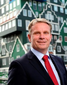 Wethouder Jeroen Olthof van de gemeente Zaanstad
