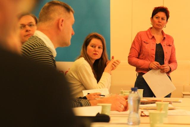 Tijdens de kick-off sessie in Utrecht. Foto: Marijke Visser.