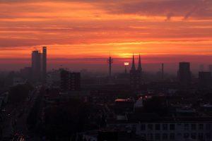 Tilburg skyline