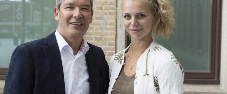 Wilfred Fischer en Mandy Müller.