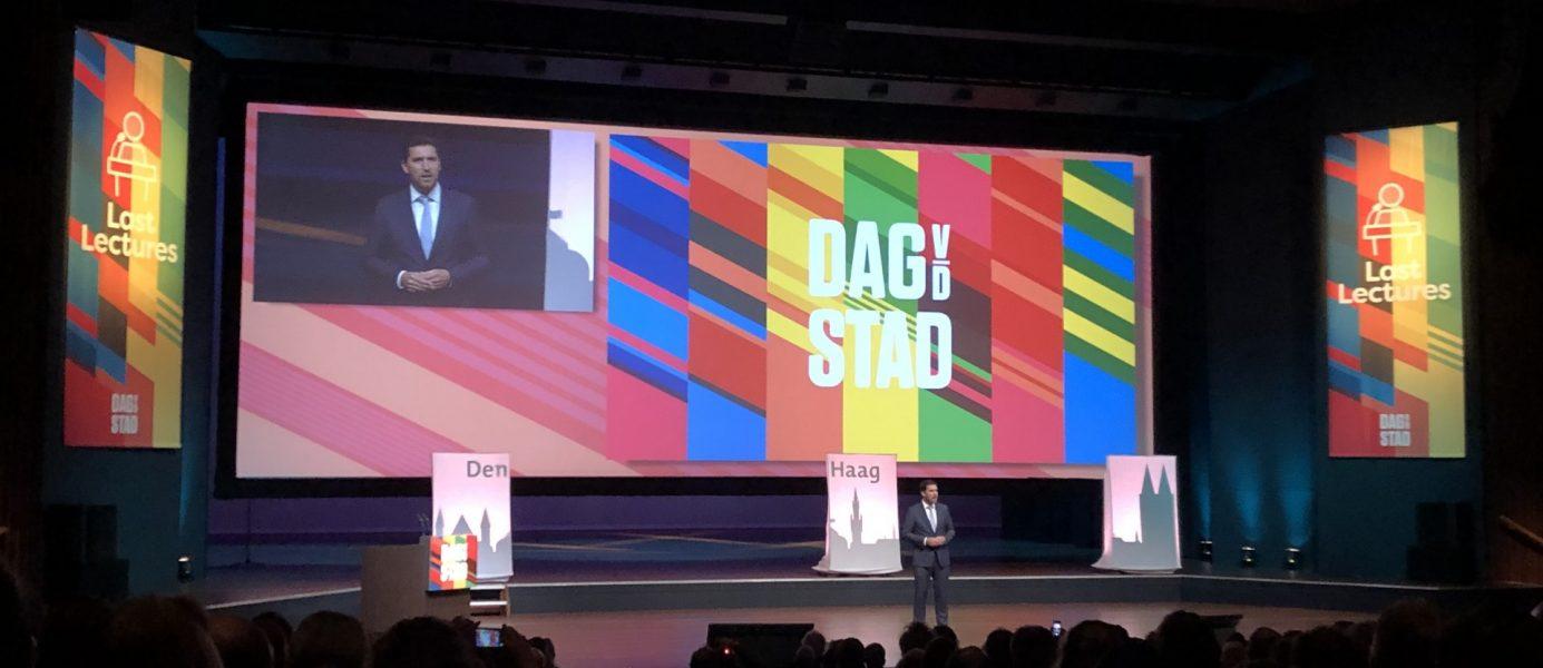 Wethouder Van Asten (Den Haag) opent Dag van de Stad 2019