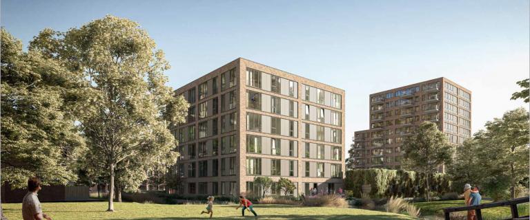 Presentatie bouwplannen locatie Van Loon Gouda.Foto: Van Ommeren Architecten,