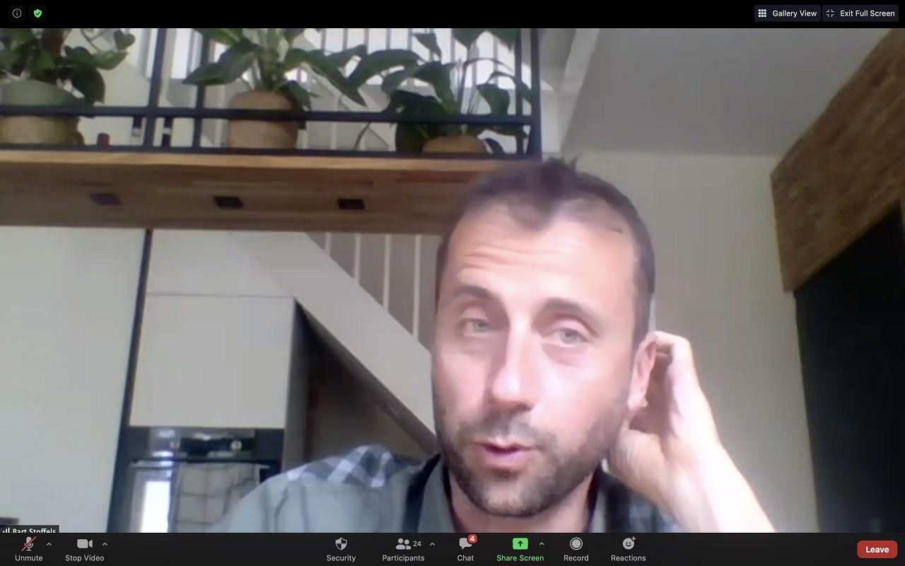 Bart Stoffels bij de COP-sessie City Deals explained op 15 juni 2020