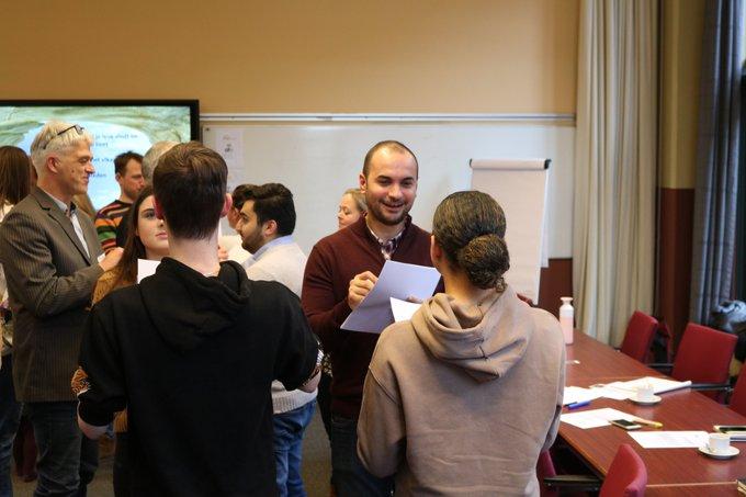 Studenten aan het werk in project WIJS.