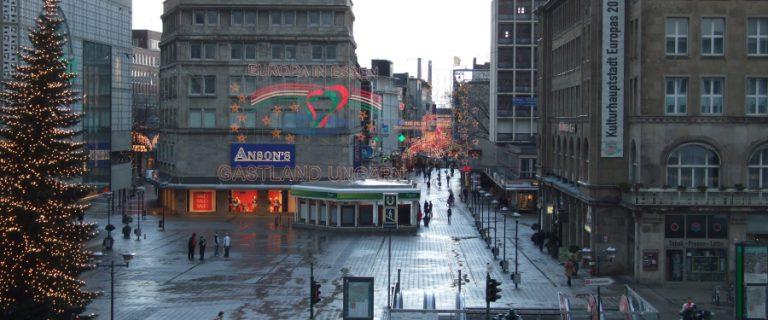 Centrum van Essen. Foto: Ghadam/Flickr CC.
