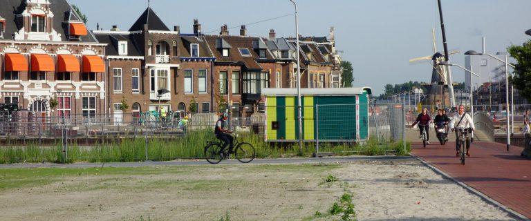 Spoorzone in Delft. Foto: Wattman/Flickr CC.